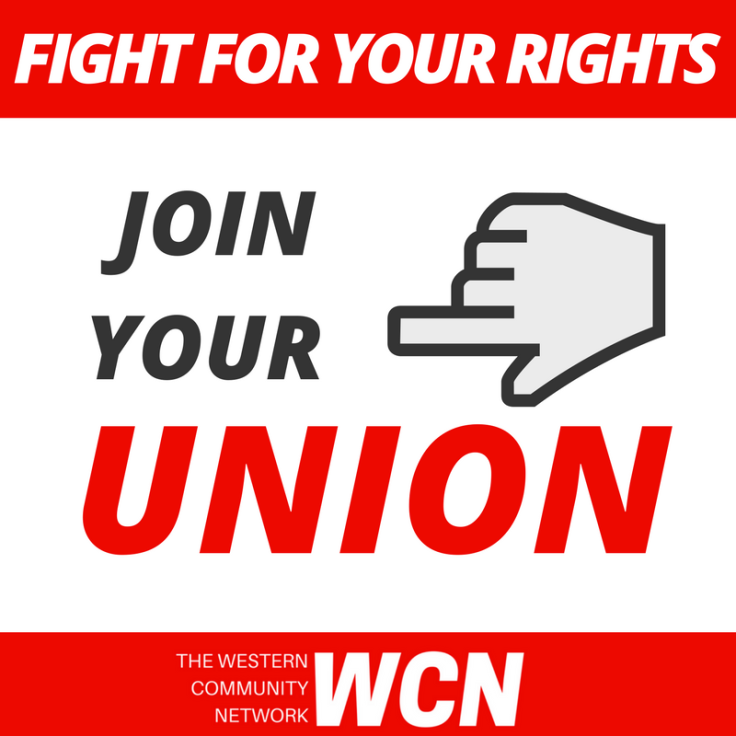 JOIN YOUR UNION